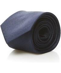 Calvin Klein Shirt Cravate en soie - bleu marine