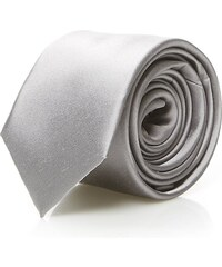 Calvin Klein Shirt Cravate en soie - gris