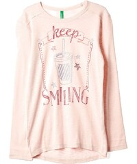 Benetton T-shirt - rose clair
