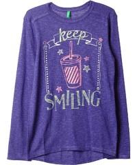 Benetton T-shirt - violet