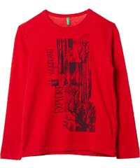 Benetton T-shirt - bordeaux