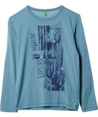 Benetton T-shirt - bleu clair