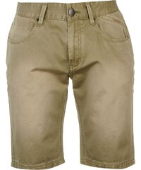 Firetrap Coloured Denim Shorts Mens, khaki
