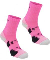 Karrimor 2 pack Running Socks Ladies, bright pink