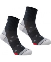 Karrimor 2 pack Running Socks Ladies, mid grey