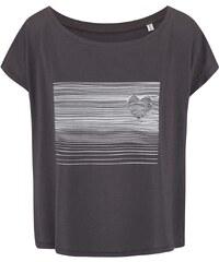 Šedé dámské volnější tričko se srdcem ZOOT Originál Heart Line