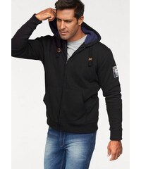 Man s World Kapuzensweatjacke MAN'S WORLD schwarz 4XL (68/70),5XL (72/74),L (52/54),M (48/50),S (44/46),XL (56/58),XXL (60/62),XXXL (64/66)