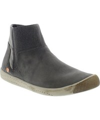 softinos klassische Stiefelette IME335SOF washed leather SOFTINOS grün 36,38,39,41,42