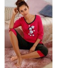 NICI Capri-Pyjama mit niedlichem Frontprint rosa 32/34,36/38,40/42,44/46