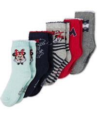 C&A Baby 5 Paar Minnie Mouse Baby-Socken in mintGrün