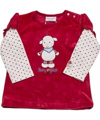 SALT AND PEPPER Baby-Mädchen Sweatshirt Bg Sweat 2in1 Nicki Schaf