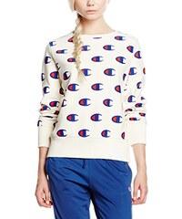Champion Reverse Weave Damen Sweatshirt All Over Print Crew Sweat