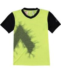 Triko adidas adi5 T Shirt dětské Black/Red/Electric