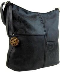 Černá crossbody kabelka Precious