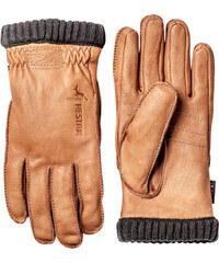 Hestra Handschuhe / Lederhandschuhe Deerskin Primaloft Ribbed