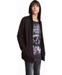 H&M Bunda Trashed s kapucí