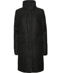 Tmavě zelený kabát ICHI Cegaz