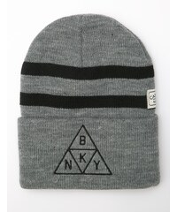 Cayler & Sons Briangle Old School Beanie Grey Heather Black