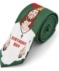 Trendhim Narozeninová vánoční kravata Birthday Boy AB11-4-7803