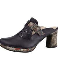Nazouvací obuv černá-kombi