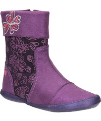 Kožená kotníčková obuv dívčí
