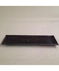 MIJ Sashimi talíř 33 x 10 cm tmavě hnědý