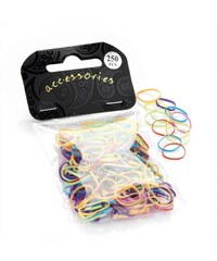 250 ks gumiček do vlasů 27259 - barevné