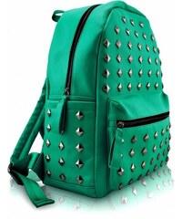 Dámský batoh Studs 186 smaragdový