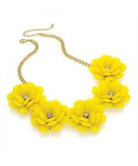 Žlutý náhrdelník Zora 29263