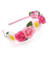 Růžová čelenka Adele 29152