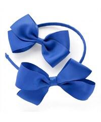 Modrá čelenka a sponka Kate 29970