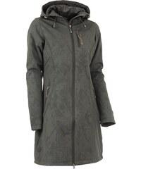 Dámský softshellový kabát ALPINE PRO ASHERAH 2 INS. TMAVĚ