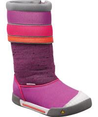 KEEN Dětské boty Encanto Madison Boot Purple Wine/Tigerlily