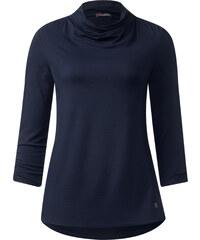 Street One - T-shirt à fronces Iljana - bleu