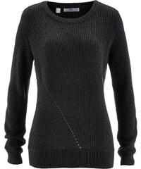 bpc bonprix collection Pullover, Langarm in grau für Damen von bonprix