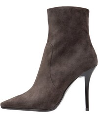 Luciano Barachini High Heel Stiefelette grigio