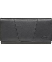 Lagen Dámská černá kožená peněženka Black PWL-388/L