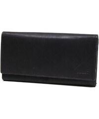 Lagen Dámská tmavě hnědá kožená peněženka Dark Brown V-62
