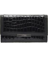 Lagen Dámská černá kožená peněženka Black 614811