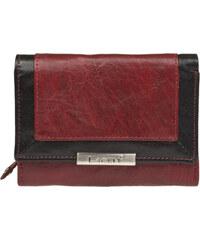 Lagen Dámská kožená červená peněženka R/B LN-1496
