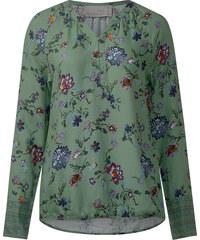 Cecil Bluse mit Herbstblüten-Print - loden frost green, Herren