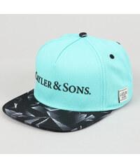 Cayler & Sons WL BK Rocks mentolová / černá / šedá