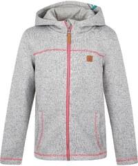 LOAP Dětský svetr s kapucí Kefir - šedý