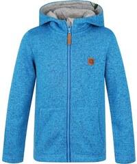 LOAP Dětský svetr s kapucí Kefir - modrý