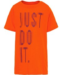 Nike Performance Tshirt imprimé safety orange/team red