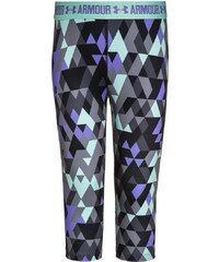 Under Armour Collants gray/crystal/violet storm
