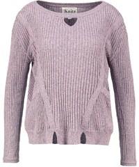 For Love & Lemons Strickpullover grey/pink