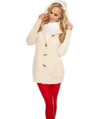 Koucla Pletený dámský kabátek