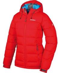 Husky Dámská péřová bunda Heral L -20°C červená