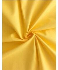 Dadka Povlečení satén žlutá 140x200, 70x90 cm
